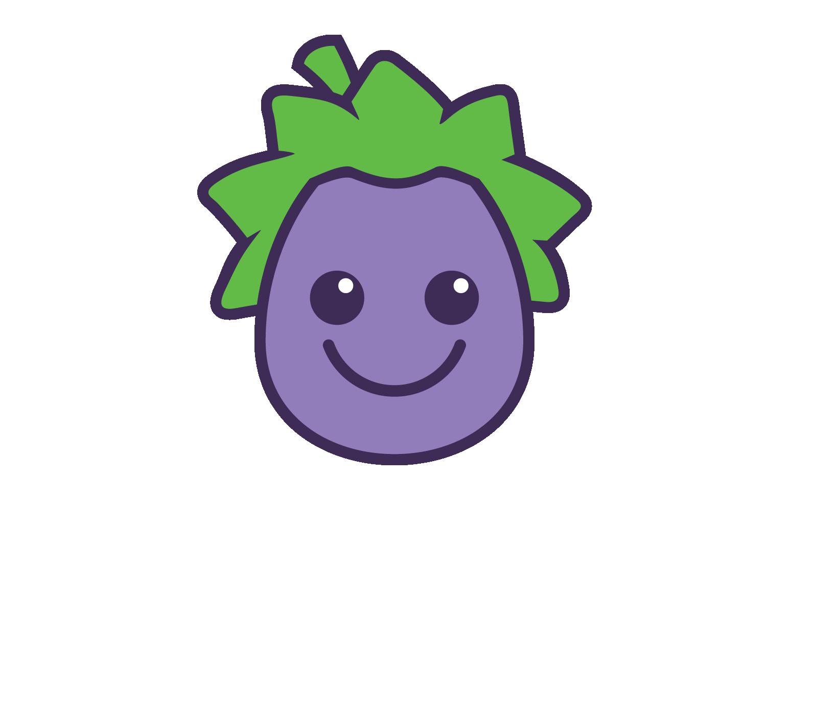 Eggplant MASTER Logo WHITE STRAP RGB cropped