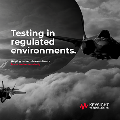 Testing in Regulated Environments Cover Page